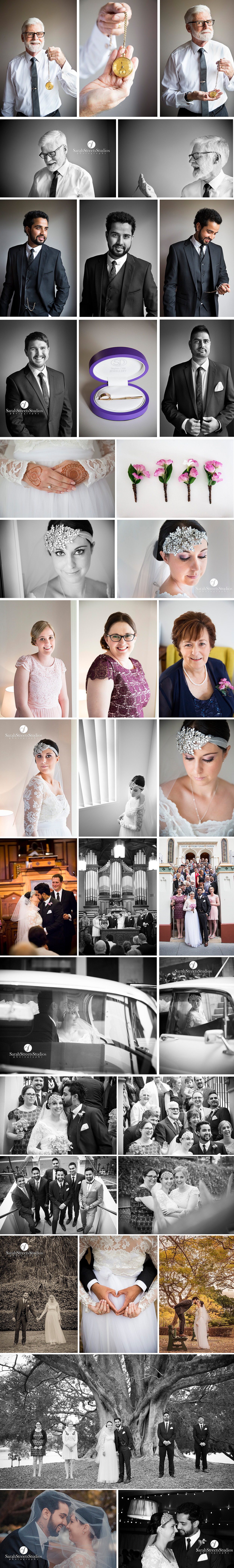 wedding photographers brisbane, new farm park wedding photography